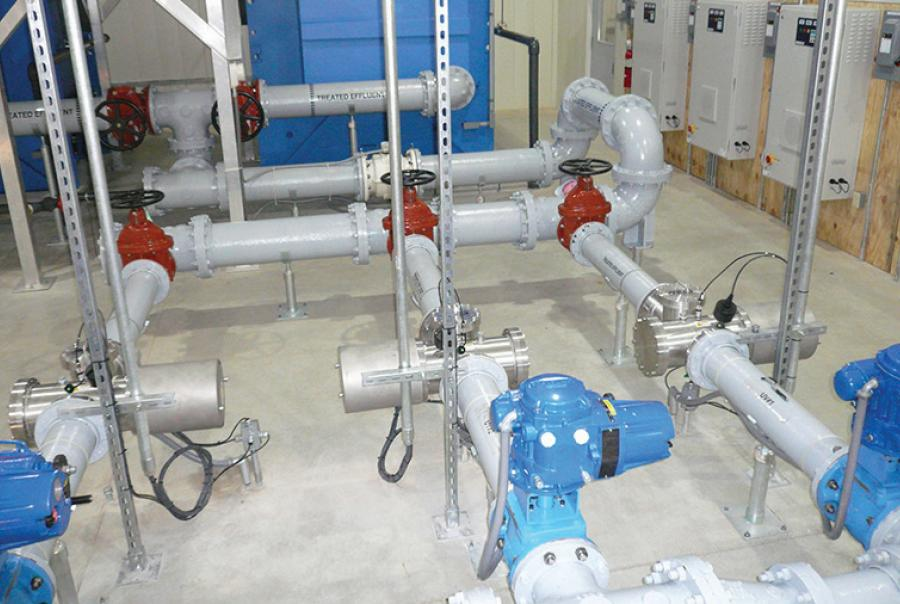 Three ETS-UV disinfection systems installed in The Little Swatara Creek WWTP