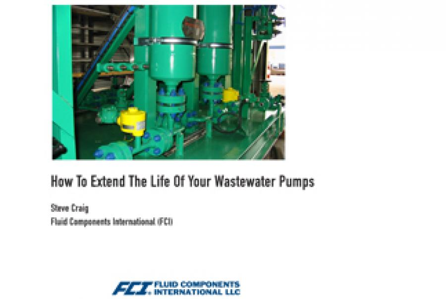 How To Extend The Life Of Your Wastewater Pumps