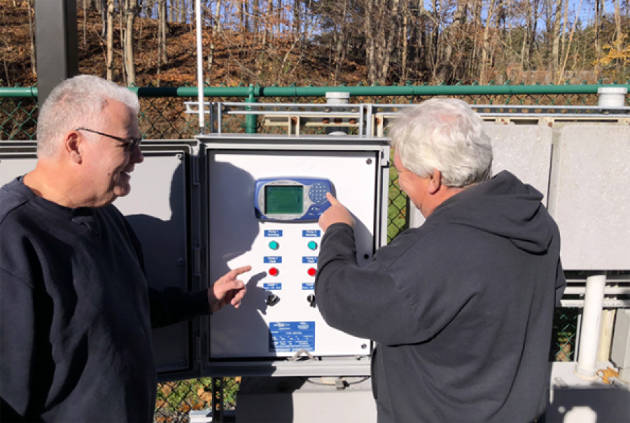 MultiSmart Control Panel simplifies control of Flygt N-Pump's advanced features