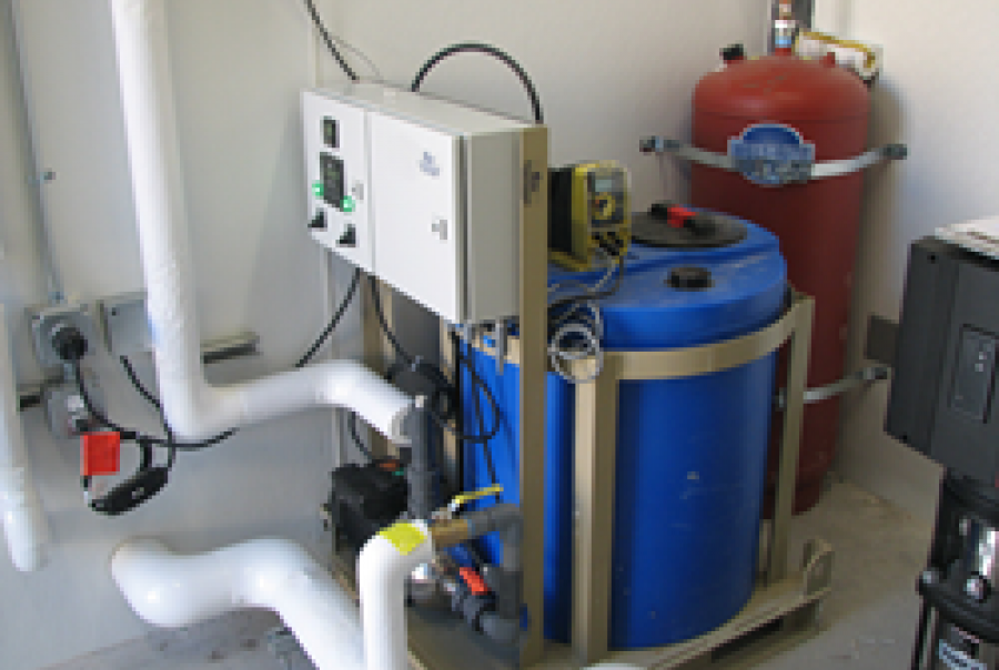 Clean Water Systems chlorination Opal Gas Processing Plant Wyoming