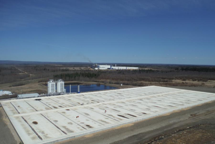 Pulp Mill Reduces Electrical Costs With Biogas Collected With Cover