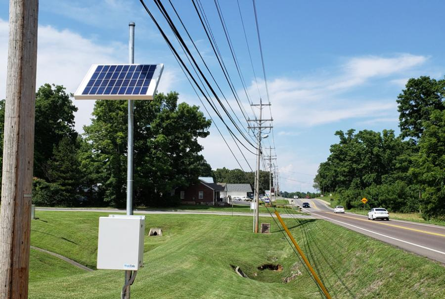 Solar panels allow utility to install units anywhere