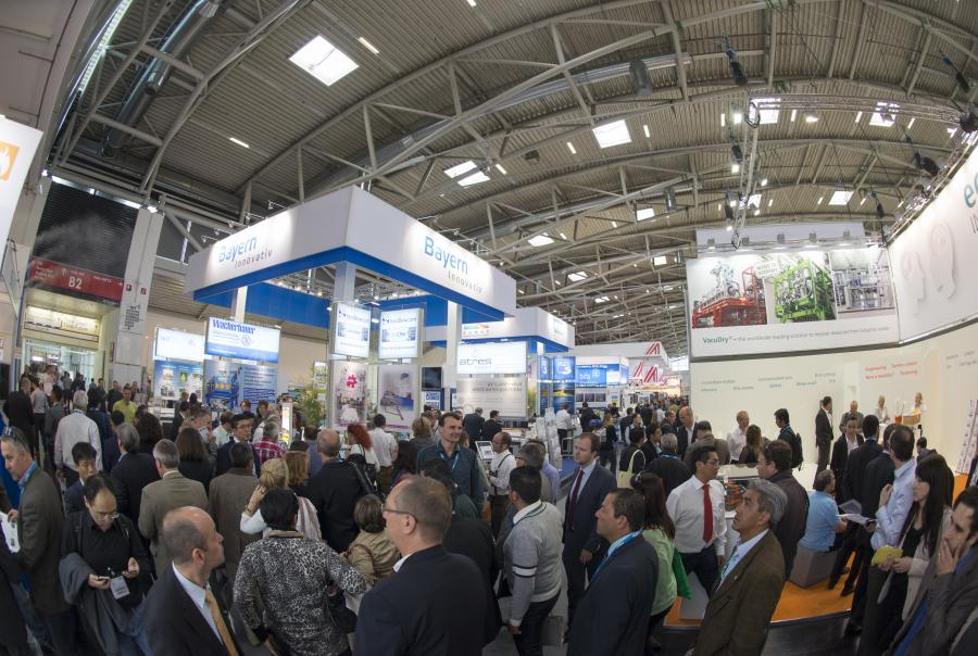 Messe München IFAT 2016 waste to energy