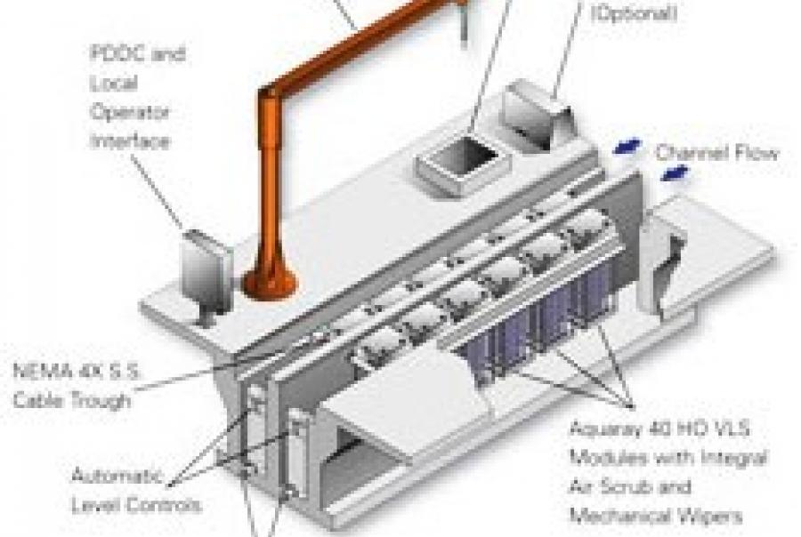 Ohio Wastewater Treatment Plants Install High Output Vertical Lamp System for Wastewater