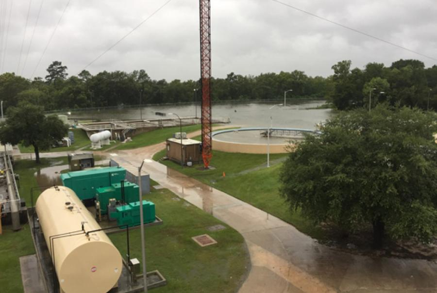 Wastewater treatment plant recovers after historic hurricane