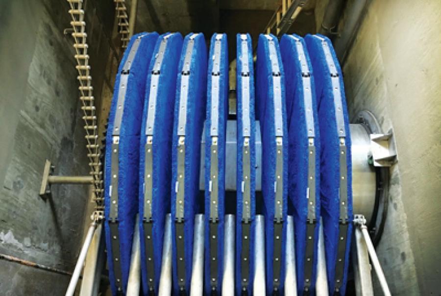 Talladega Water & Sewer Installs Cloth Filter
