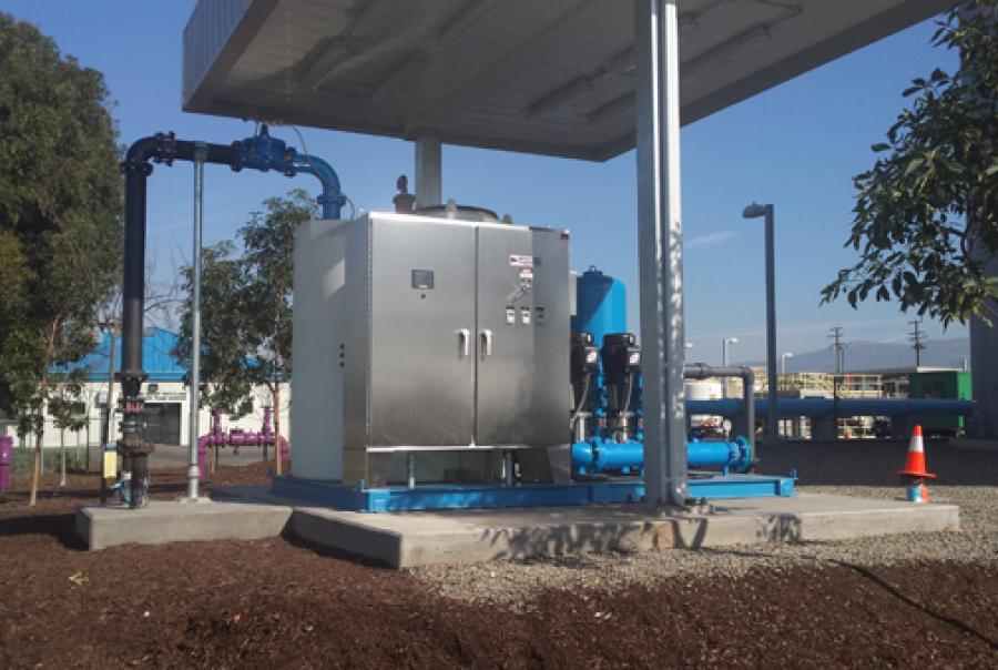 System comes with tanks, pumps, motors, piping, valves & controls