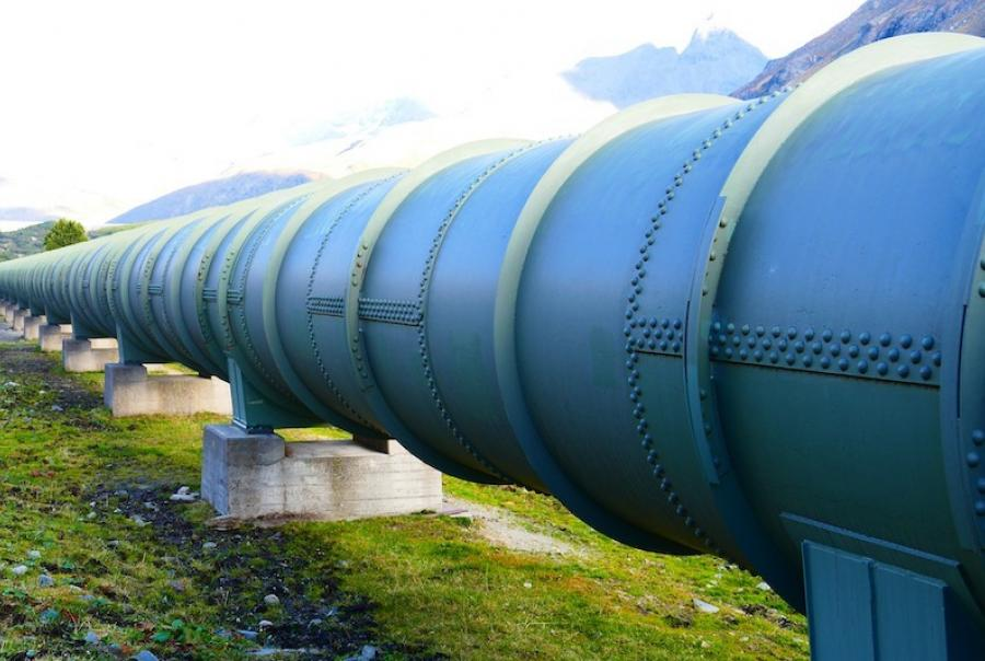 Pipeline delivers treated water to the Diemer Water Treatment Plant in Yorba Linda