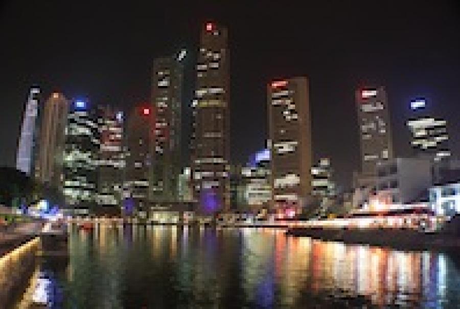 Xylem Wedeco ultraviolet UV disinfection Changi Water Reclamation Plant Shanghai