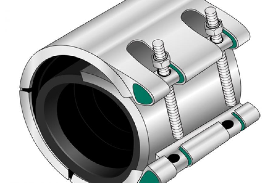 Openable split-sleeve coupling
