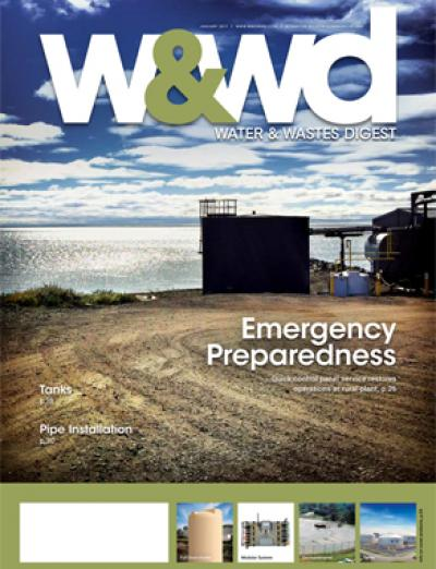 w&wd, wwd, current issue, january, 2017, water, wastewater, digest, magazine