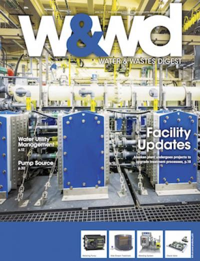 water and wastes digest, wwd, 2017, april, issue