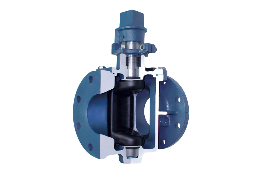 Plug Valve Provides Performance for Systems With Slurries, Grit & Solids