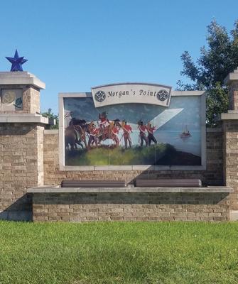 Morgan's Point, Texas, sign