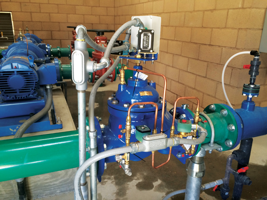 Many mechanical valves can be upgraded with solenoids and controls to allow for electronic control of the valve.